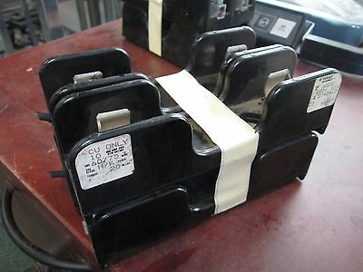 Gould/Taylor Fuse Block 60301 30A 600V *Lot of 4* Used