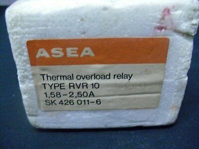 Overload Relay SK4260116 Asea 1.58-2.5A SK-426-011-6