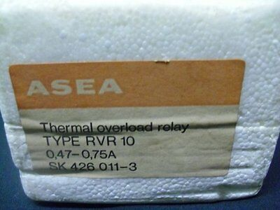 Overload Relay SK4260113 Asea 0.47-0.75A SK-426-011-3