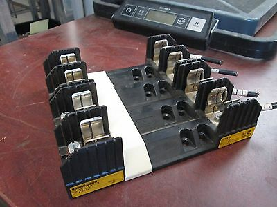 Bussmann Fuse Block R60060-2COR 60A 600V 2P *Lot of 2* Used