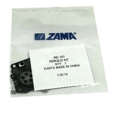 GENUINE Zama Full RB-107 Rebuild Kit RB107