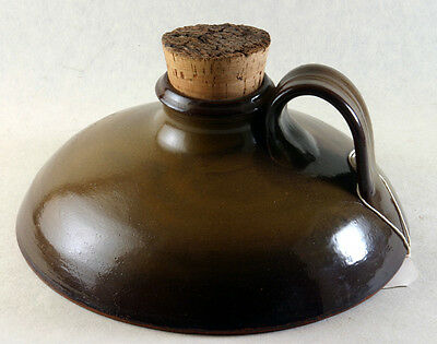"""Seagrove Pottery Lucks Ware """"The Captains Flask"""""""