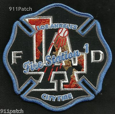 LOS ANGELES, CA - Fire Station 1 FIREFIGHTER Patch