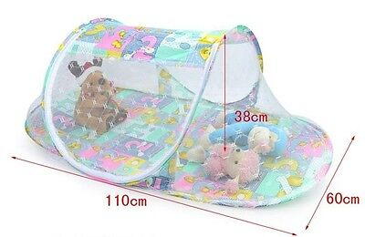 Baby Mosquito Fold Safty Mosquito Net Boat Style Playpen Shade Travel Tent Bed