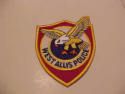 WEST ALLIS WISCONSIN POLICE PATCH