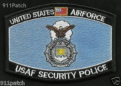 USAF Security Police United States AIRFORCE Patch