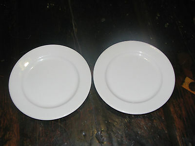 """Homer Laughlin Best China  two 6 1/4"""" plates"""