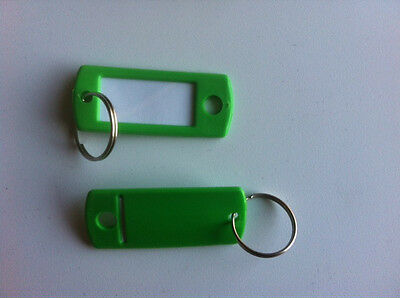 Lucky Line   Key Tag, Green  50/pk