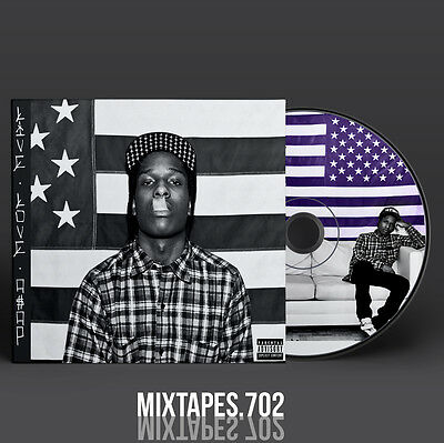 ASAP Rocky - LiveLoveA$AP Mixtape (Full Artwork CD Art/Front Cover/Back Cover)