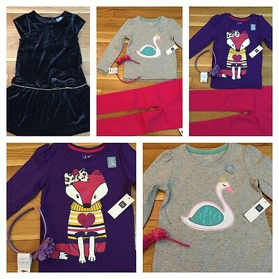 NEW  Gap Wholesale LOT Clothing Girl 4  YEARS $ 115+TAX