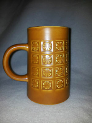 Holkham Pottery Mug Cup Tankard. Retro. Collectible. European. 60's 70's