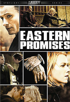 Eastern Promises (DVD, 2007, Widescreen) DVD used