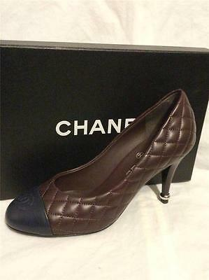3d2ddfee7a CHANEL 17C Pearl Camellia T Strap Cap Toe Bow Block Heel Sandals Shoes  $1175.