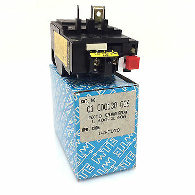 Overload Relay 01-000130-006 MTE 1.6-2.4A 01.000130.006 01000130-006
