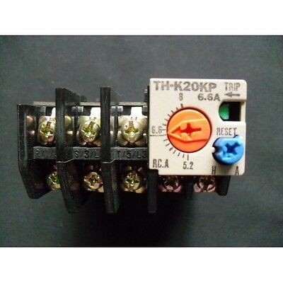 Overload Relay TH-K20KP-6.6A Mitsubishi 5.2-8.0A TH-K20KP-6.6A