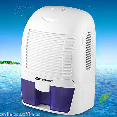 1.5L Electric Dehumidifier Air Dryer Moisture Damp Mould Drying Home Room Drying
