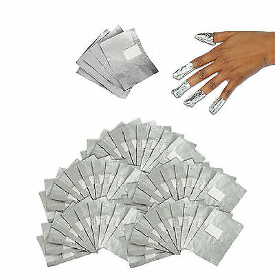 Nail Art Soak Off Remover Gel Polish Acrylic Removal Foil Wraps Pad UK