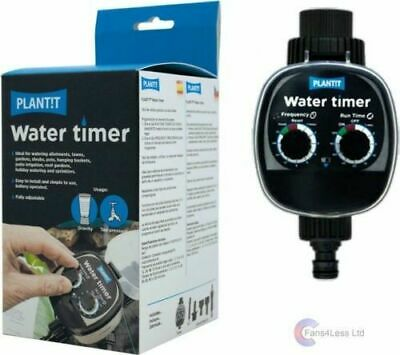 PLANT!T Water Timer Gravity Fed System Dripper / Irrigation Hydroponics Grow
