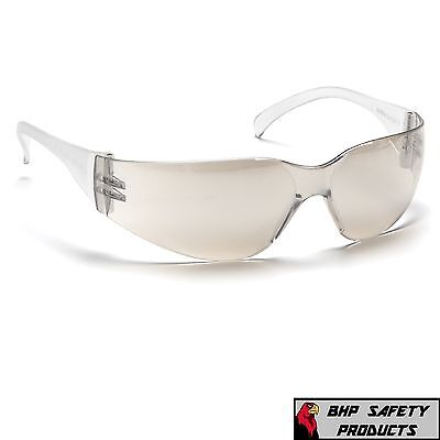 Pyramex Intruder Safety Glasses Indoor/outdoor Mirror I/o Lens S4180S (1 Pair)