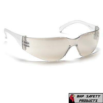 Safety Glasses Indoor/outdoor Mirror I/o Lens Pyramex Intruder S4180S (1 Pair)