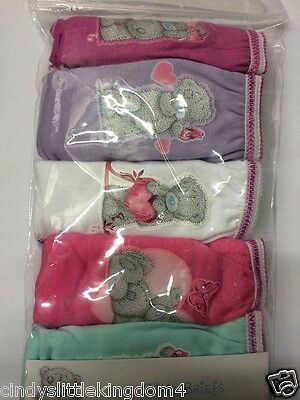 New Me to You Tatty Teddy girls 5 pack of 100% cotton knickers briefs underwear
