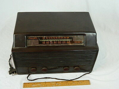Vintage1949 Philco Tube Am Fm Radio Model 49 906 Bakelite