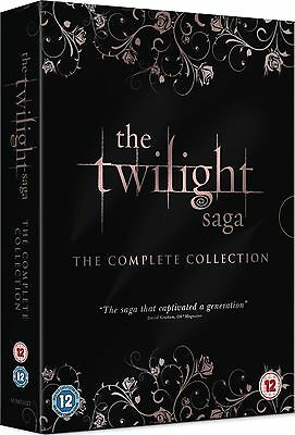 TWILIGHT - 1-5 Complete Movie Collection 1-5 Eclipse Moon Breaking Moon New DVD