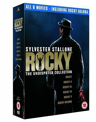 ROCKY Series 1-5 Complete Boxing Movie Collection Part 1 2 3 4 5 BALBOA New DVD
