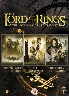 LORD OF THE RINGS Trilogy - Complete Collection Box Set Part 1 2 3 New UK R2 DVD