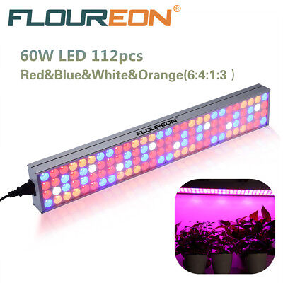 60W LED Plant Grow Light Panel Full Spectrum Indoor Flower Hydroponic Lamp