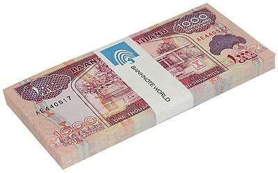 Somaliland 1,000 (1000) Shillings X 50 Pieces (PCS), 2011,P-20a, UNC,Half Bundle