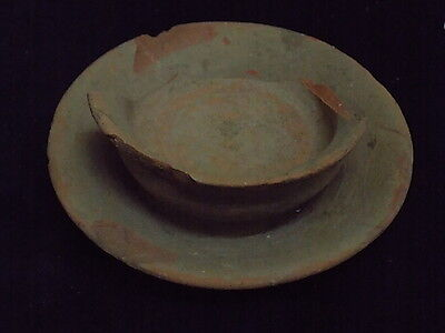 Ancient Teracotta Offering Bowl Bronze Age 2000 BC