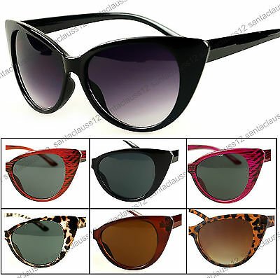 Cat Eye Ear Sunglasses Retro Vintage 50s Women's  UV400