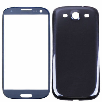 Front Touch Screen Glass Cover Battery Replacement For Samsung Galaxy S3 i9300