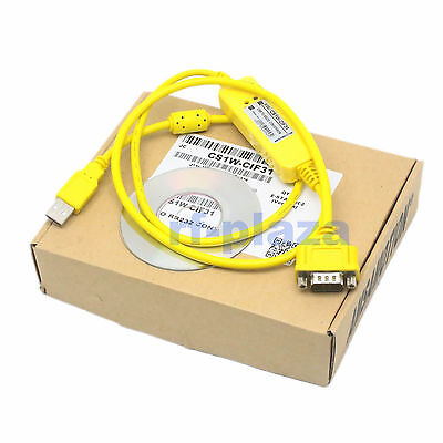 Programming cable CS1W-CIF31 for Omron WIN7 Vista USB to RS232 Conversion