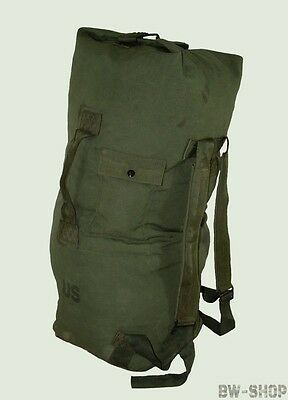 Original Us Seesack 100L Army Rucksack Oliv Transportsack Tasche Camping Outdoor