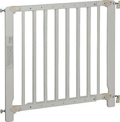 "Safety Gate ""Audin""  white stair gate baby kids door gate children adjustable"