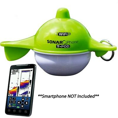 Vexilar Sp1Oo Sonarphone With Transducer Pod