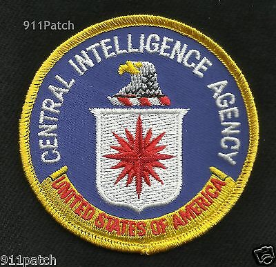 Central Intelligence Agency CIA United States of America Eagle Shield Patch