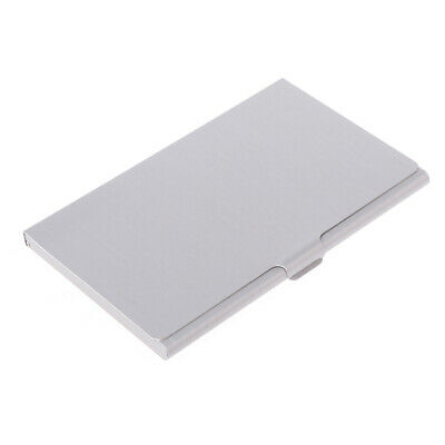 Stainless Steel Business Name Credit ID Card Holder Box Metal Pocket Box Case