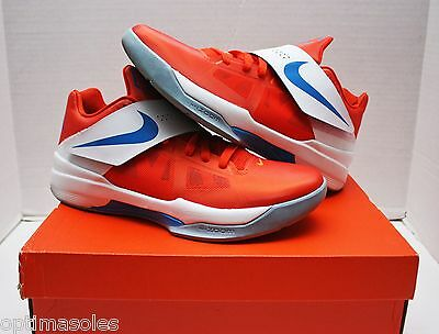 9d7a9ef5ff2e Nike KD IV 4 Creamsicle Size 11 - Orange White Blue - Galaxy - 473679 800