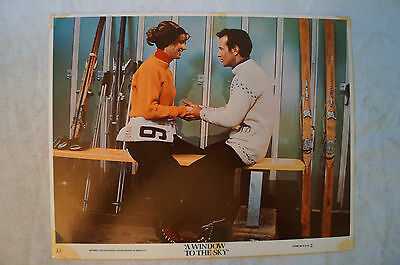 Lobby Cards x 2 - A Window To The Sky - average condition