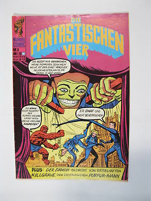 Fantastische Vier Nr.   8   Marvel Williams im Zustand (1-2)  56695