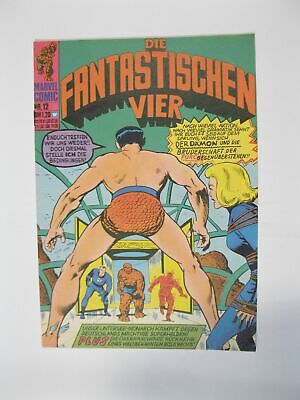 Fantastische Vier Nr.  12   Marvel Williams im Zustand (1-2)  56698