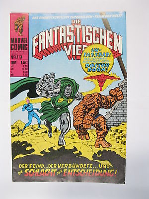 Fantastische Vier Nr. 113   Marvel Williams im Zustand (1)  56641