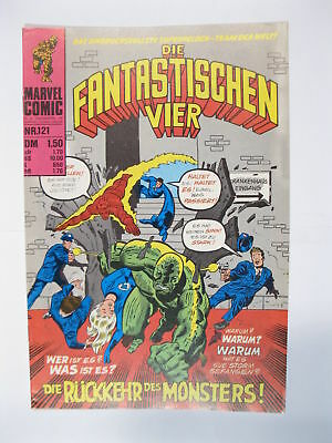 Fantastische Vier Nr. 121   Marvel Williams im Zustand (1)  56642