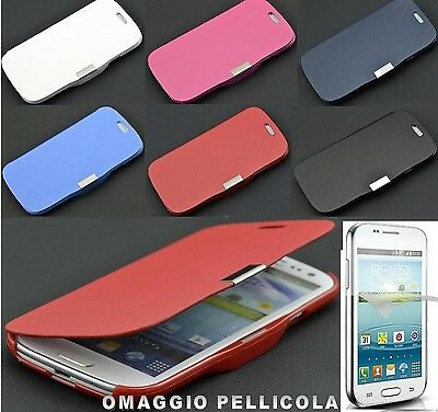 CUSTODIA COVER LIBRO SLIM per SAMSUNG GALAXY CORE PLUS SM-G350 G3502