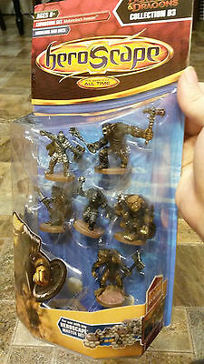 Heroscape Bugbears and Orcs Moltenclaw's Invasion Sealed Miniatures NM/M