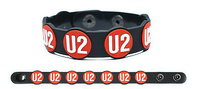 U2 Rubber Bracelet Wristband Songs of Innocence All That You Can't Leave Behind