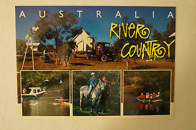 Australia - River Country - Collectable - Postcard.